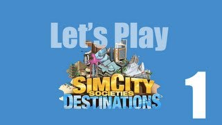 SimCity Societies Gameplay - Part 1 - Getting Started