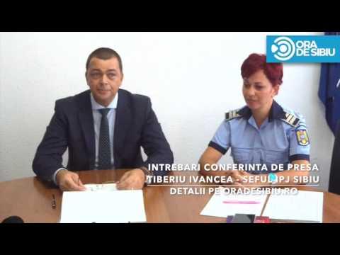 Intrebari conferinta de presa   Tiberiu Ivancea   IPJ Sibiu