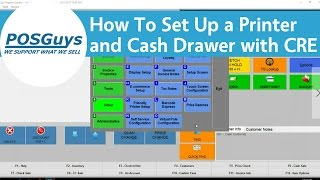 Step-by-step instructions on how to set up your receipt printer and cash drawer with register express. for more help cre, contact our support team!...