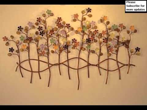 Metal Wall Hangings metal wall decor outdoor | metal art - youtube