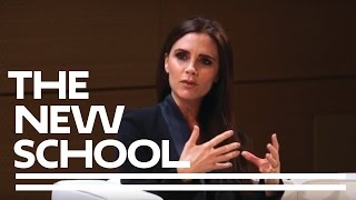 Victoria Beckham at Parsons School of Design