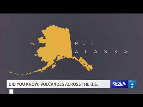 Did You Know: Volcanoes Across The U.S.