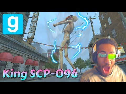 King SCP-096 vs Ghost Town - Garry's Mod Edition ft. mt2oo8