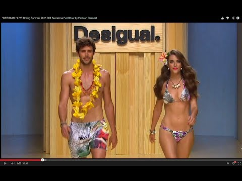 """""""DESIGUAL"""" LIVE Spring Summer 2015 080 Barcelona Full Show by Fashion Channel"""