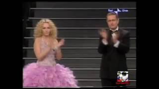 Annuncio della morte di Alberto Castagna - Sanremo 2005 (Paolo Bonolis & Antonella Clerici)