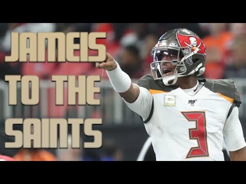 Jameis Winston signing with Saints on one-year deal