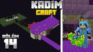 Kadimcraft 1: Bölüm 14 - MİNİ ve ETKİLİ ENDERMAN XP TESİSİ !!