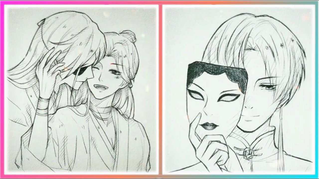 Cách Vẽ Anime Bằng Bút Chì Đỉnh Cao Tik Tok (P1)