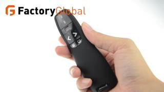 R400 Mini RF Remote Presenter Laser Pointer OEM FG OE H4212 TB