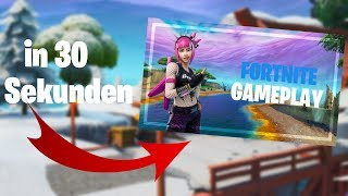 Quick, Easy & Free to Create Fortnite Thumbnail in 30 Seconds!