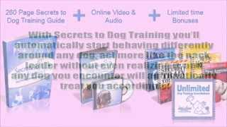 Secrets To Dog Training - Daniel Stevens Dog Obedience Training Guide