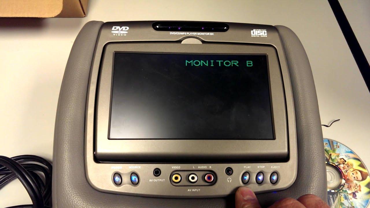 medium resolution of invision headrest bx issue