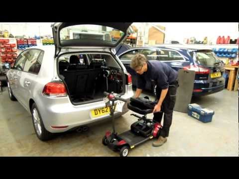 80kg 2 Way  Pride GoGo Scooter Hoist in a Golf Hatchback.MOV