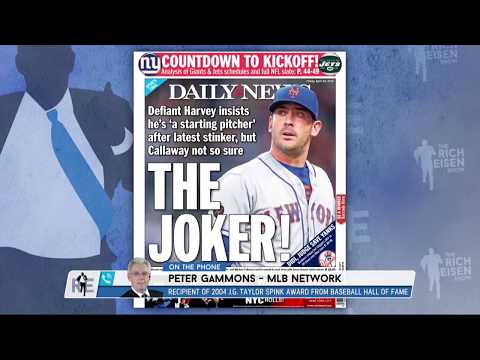 MLB Network's Peter Gammons on Matt Harvey's Struggles | The Rich Eisen Show | 4/20/18