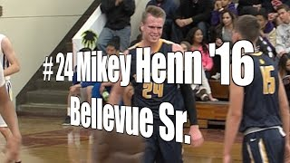 Mikey Henn '16, Bellevue Senior at 2015 UA Holiday Classic