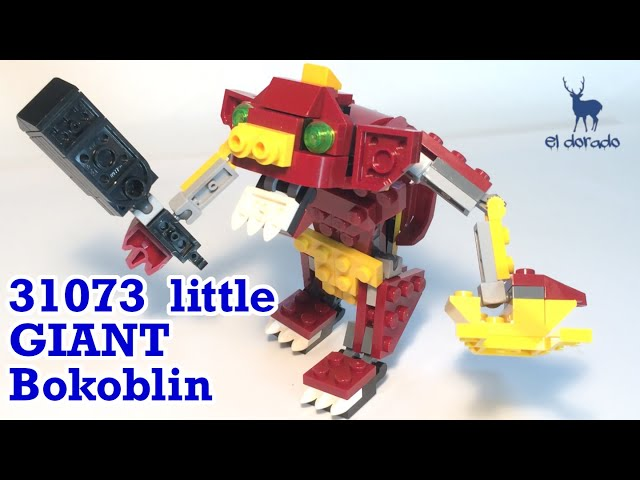 LEGO CREATOR 31073 Alternate Build  - Bokoblin in Mythical Creatures Speed Build - Construction Toy