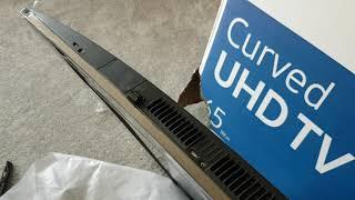 """Samsung UE65NU8500 65"""" Smart 4K Curved LED TV Unpacking"""