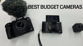 The BEST Affordable Vlogging Cameras | 2018