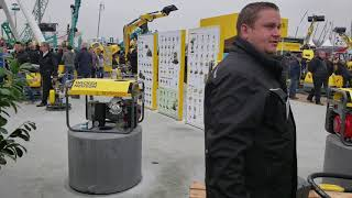 Video still for Wacker Neuson's E-machines Display at bauma 2019