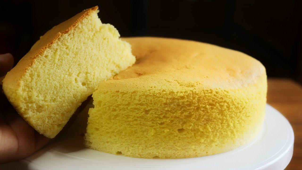 তুলার মত তুলতুলে জাপানিজ কটন স্পঞ্জ কেক রেসিপি | Japanese Cotton Sponge Cake Recipe in Bangla