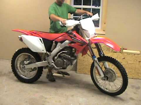 2005 honda crf 250 x for sale like new youtube. Black Bedroom Furniture Sets. Home Design Ideas