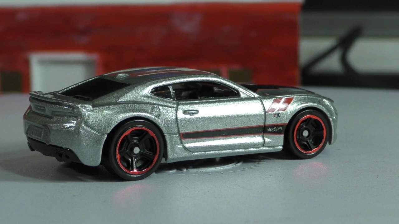 2017 Hot Wheels G Case 155 16 Camaro Ss Youtube
