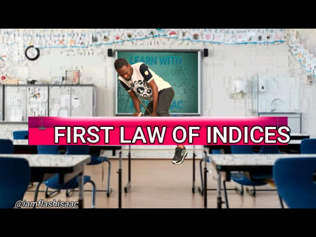1st Law of Indices (Multiplication)
