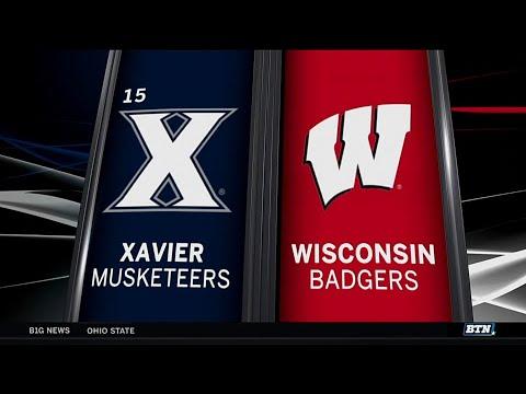 Xavier at Wisconsin - Men