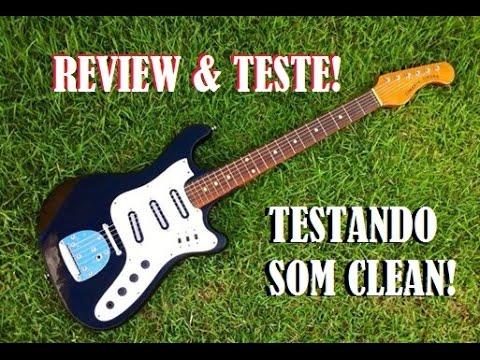 Teste Guitarra Tonante Finder Som Clean
