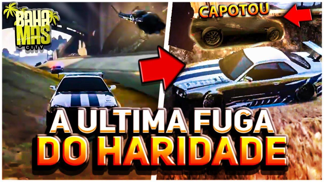 ÚLTIMA FUGA DO HARIDADE COM O RED ANTES DE IR PRA FRANÇA! GTA RP