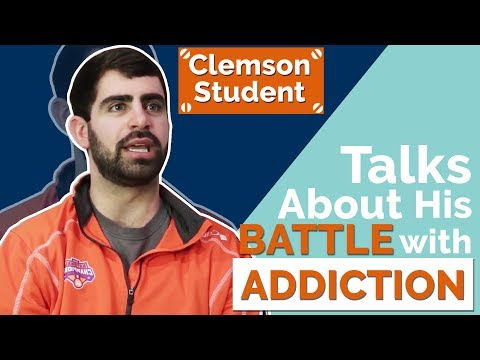 Clemson Student Talks About His Battle With An Addiction To Cocaine & Heroin.