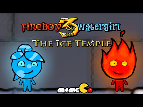 Fireboy and Watergirl: Ice Temple Walkthrough