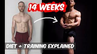 14 WEEK NATURAL TRANSFORMATION   |  VEGAN   | Training and nutrition