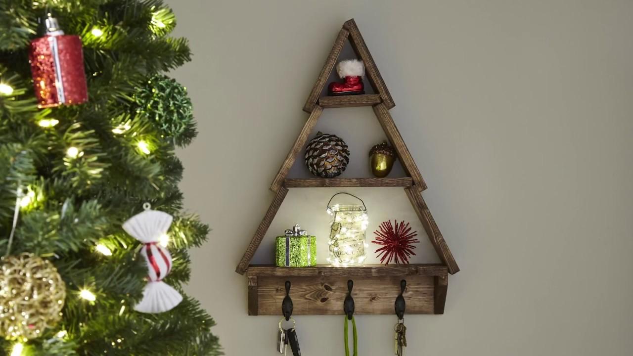 the home depot shelf tree - Home Depot Christmas Tree