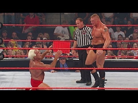 Brock Lesnar vs. Ric Flair: Raw, July 1, 2002