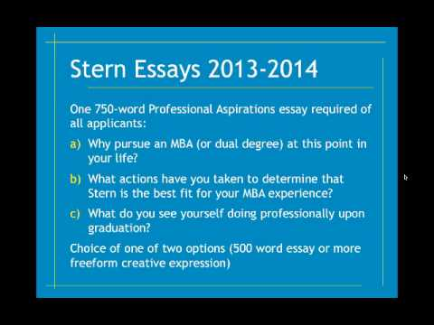 nyu essay questions 2013 Nyu stern graduate (2013) taking questions  because i know most universities in the states consider your overall application which includes the essays, sat, gpa, ecs, and so on my gpa is not good, i think it's around 36 ish, but i have a excellent sat score, great ecs and leadership, will try to polish my essays as well.