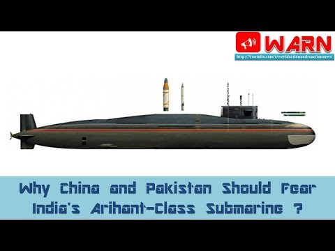 Why China and Pakistan Should Fear India's Arihant-Class Submarine