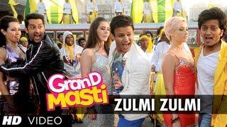 Zulmi Zulmi Grand Masti Full Song |  Riteish Deshmukh, Vivek Oberoi, Aftab Shivdasani