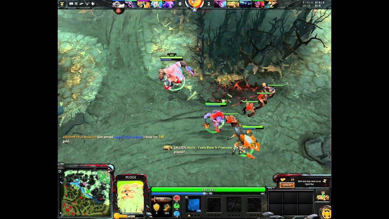 dota2 pudge captains mode ranked ez game 7k hp