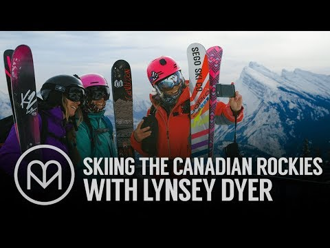 Skiing the Canadian Rockies with Lynsey Dyer