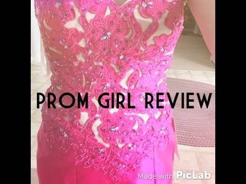 3e81ebe3acb Prom Girl Review + Pictures - YouTube