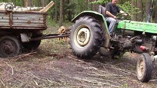 Zwózka drewna WIELKA LIPA 2018