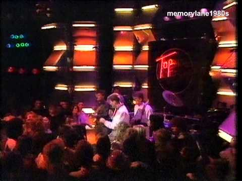Simple Minds - Up On The Catwalk. Top Of The Pops 1984