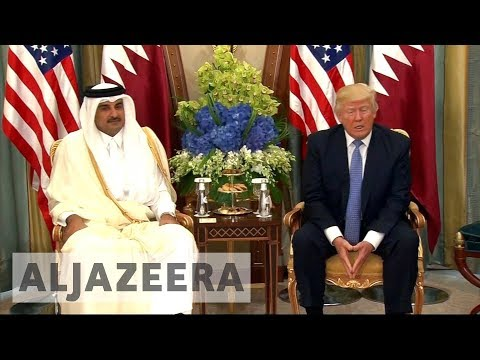 US says Trump 'committed to resolving' Gulf Arab diplomatic crisis