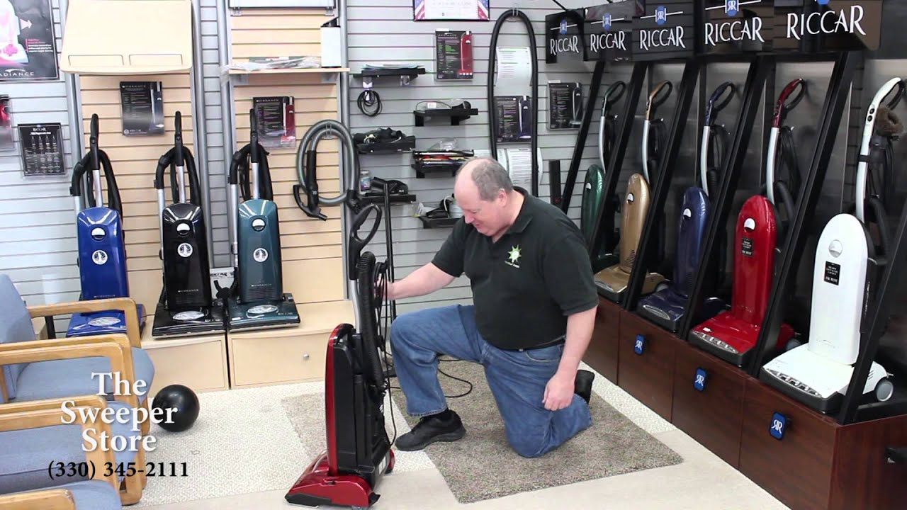 Riccar Vibrance Vacuum Cleaner Model R20UP Wooster Ohio Review