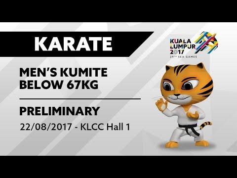 KL2017 29th SEA Games | Karate - Men's Kumite ↓67kg | 22/08/2017