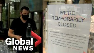 Coronavirus: Canadian jobs pick up as COVID-19 restrictions ease