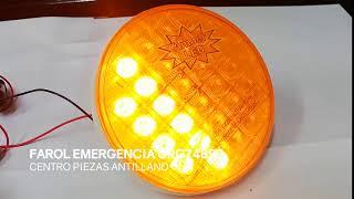 FAROL TRASERO LED SECUENCIAL GRG74890
