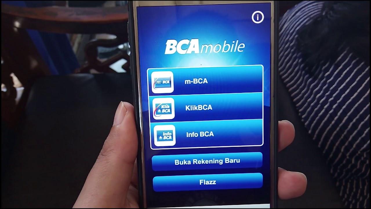 Apa Beda Bca Mobile M Bca Dengan Klikbca Youtube
