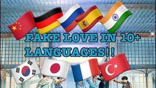 FAKE LOVE (BTS) in 10+ LANGUAGES!!